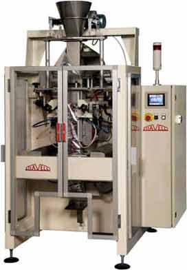 Vertical Form Fill Seal machines for variety of products with integrated dozing, weighing systems, Stiavelli accurate weighing and filling technology